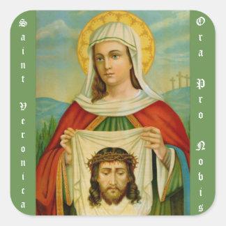 Sanktt Veronica-festmåltiddag Juli 12 Fyrkantigt Klistermärke