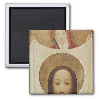 Sanktt Veronica med Sudariumen, c.1420 Magnet