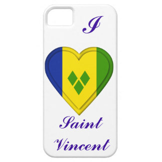 Sanktt Vincent & granatäppelsaftflagga iPhone 5 Hud