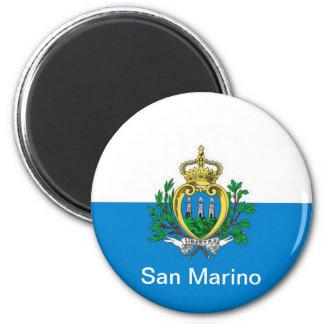 sanmarinsk flagga magnet