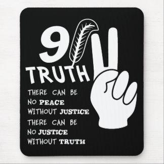 Sanning 911 ingen fred utan rättvisamousepad musmattor