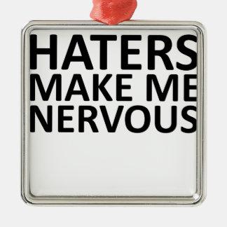 Sanning om haters.png julgransprydnad metall