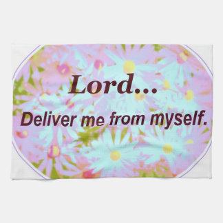 Sanningsord för Lord Leverera Me Från Jag själv so Kökshandduk
