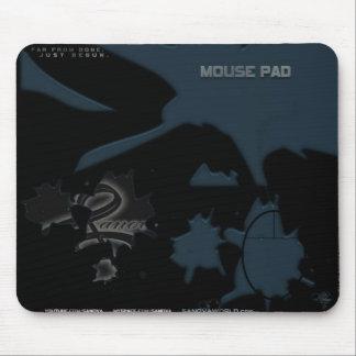 SANOVA Mousepad - kall blått - alla dem mot efterk Musmatta