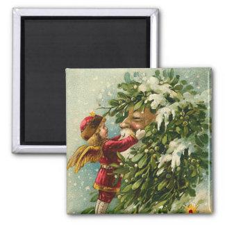 Santa & älvamagnet - strumpaStuffer Magnet