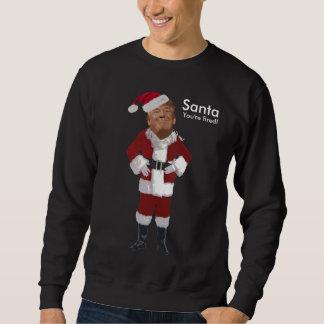 Santa avfyras du! lång ärmad tröja