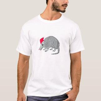 Santa bältdjurjul tee shirts