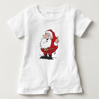 Santa bebisromper t shirt