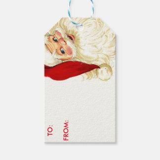 Santa beställnings- gåvamärkre presentetikett