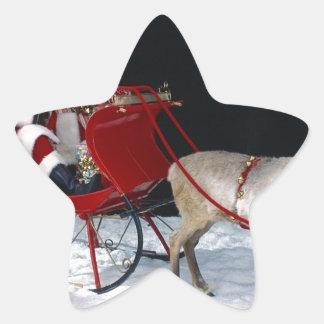 Santa-Claus-Angie-.jpg Stjärnformat Klistermärke