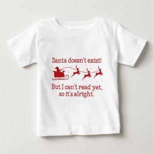 Santa finns inte! t-shirt