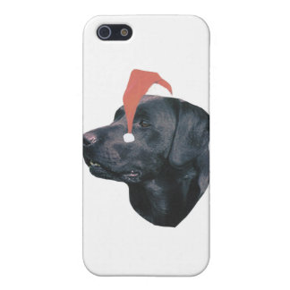 Santa för Labrador Retriever hatt iPhone 5 Skal