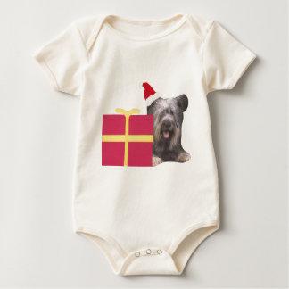 Santa för Skye Terrier hatt Body För Baby