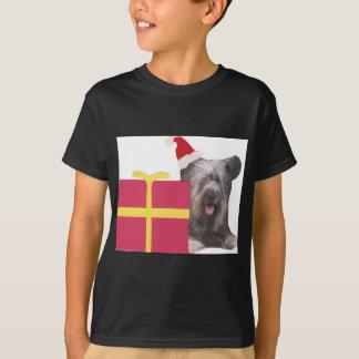 Santa för Skye Terrier hatt T-shirt