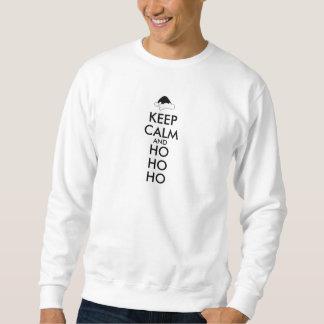 Santa för tröja för julbehållalugn Ho Ho Ho hatt