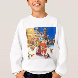 Santa & Fru Claus, julafton, nordpolenen T Shirts