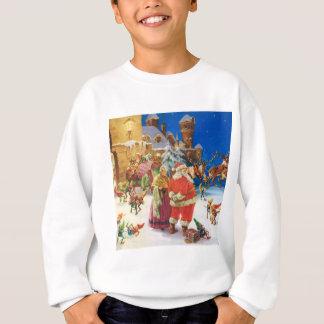Santa & Fru Claus på nordpolenen, julafton Tee Shirt