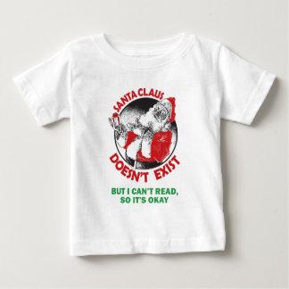 Santa gör inte, Finnas-Men jag kan inte läsa, så T-shirts