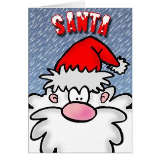Santa Hälsningskort