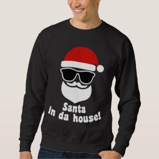 Santa i Da-hus Långärmad Tröja