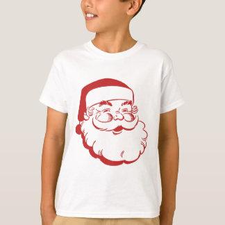 Santa jul t-shirt