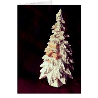 Santa julkortjjhelene hälsningskort