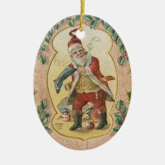 Santa julprydnad julgransdekorationer