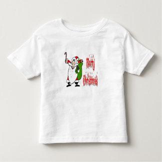 Santa & leksaken hänger lös t-shirt