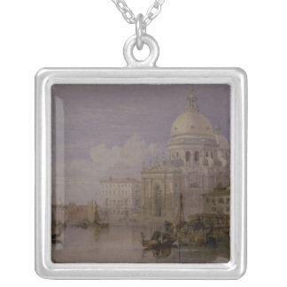 Santa Maria dellahonnör Silverpläterat Halsband