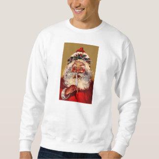 Santa med fjädern långärmad tröja