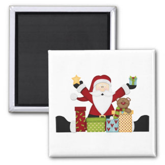 Santa med presenter