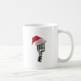 santa mikrofon kaffemugg
