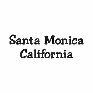 Santa Monica Kalifornien CA skjorta!!! Broderad Tröja