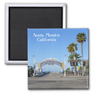 Santa Monica magnet! Magneter För Kylskåp