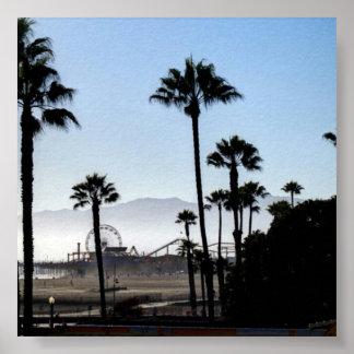 Santa Monica pir Poster