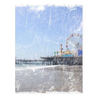 Santa Monica pir - shabby chicfotoet redigerar Vykort