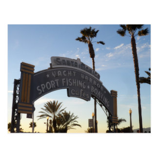Santa Monica pir Vykort