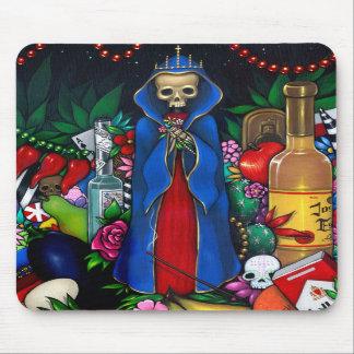 Santa Muerte Mousepad Musmattor