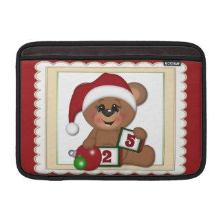Santa nalle MacBook sleeve