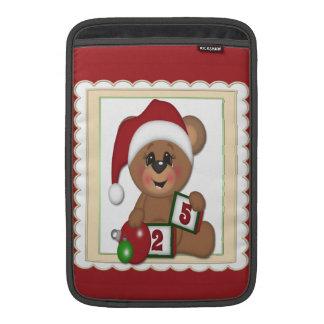 Santa nalle sleeve för MacBook air