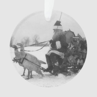 Santa och hans Turkiet ren