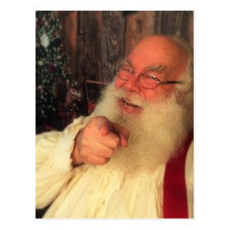 Santa önskar dig vykort