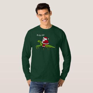 Santa på bönsyrsajulT-tröja T Shirt
