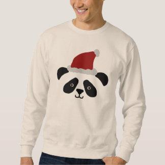 Santa Pandatröja Lång Ärmad Tröja