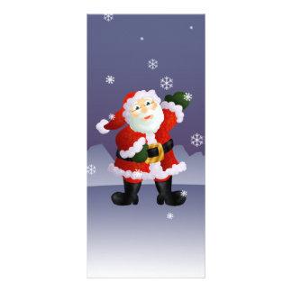 Santa Reklamkort