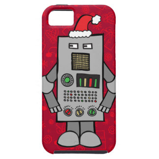 Santa robot iPhone 5 Case-Mate fodraler