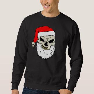 Santa skalle lång ärmad tröja