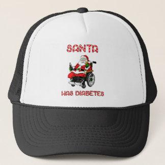 Santa sockersjuka truckerkeps