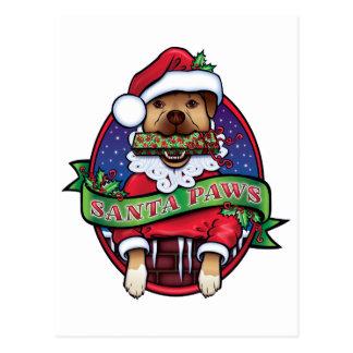 Santa tassar vykort