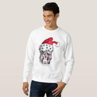 Santa tröja - jultomtenskalle